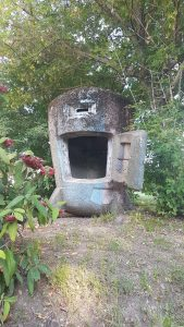 The bunker close to the Tisza river - itstartswithacoffee.com #bunker #Tisza-river #Tisza