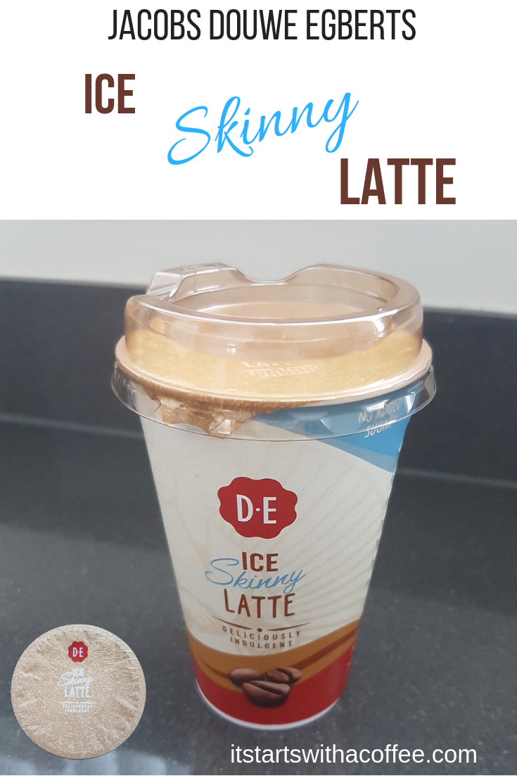 Douwe Egberts - Ice Skinny #Latte - itstartswithacoffee.com #coffee #coldcoffee #icecoffee