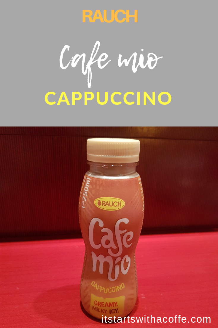 RAUCH - Cafe Mio Cappuccino - istartswithacoffee.com #rauch #cappuccino #coffee