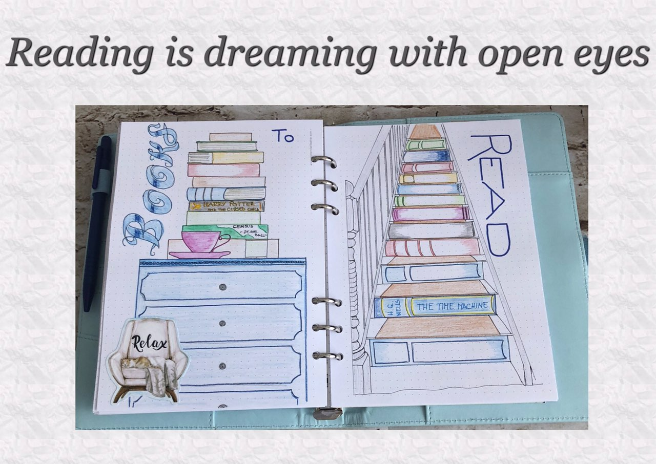 Bullet journal - books to read