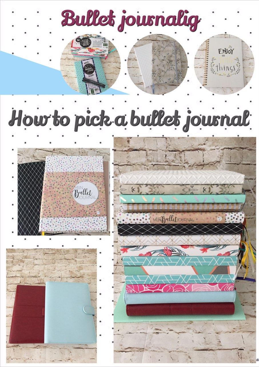 Bullet journaling - How to pick a bullet journal? - itstartswithacoffee.com #bulletjournaling #bulletjournal
