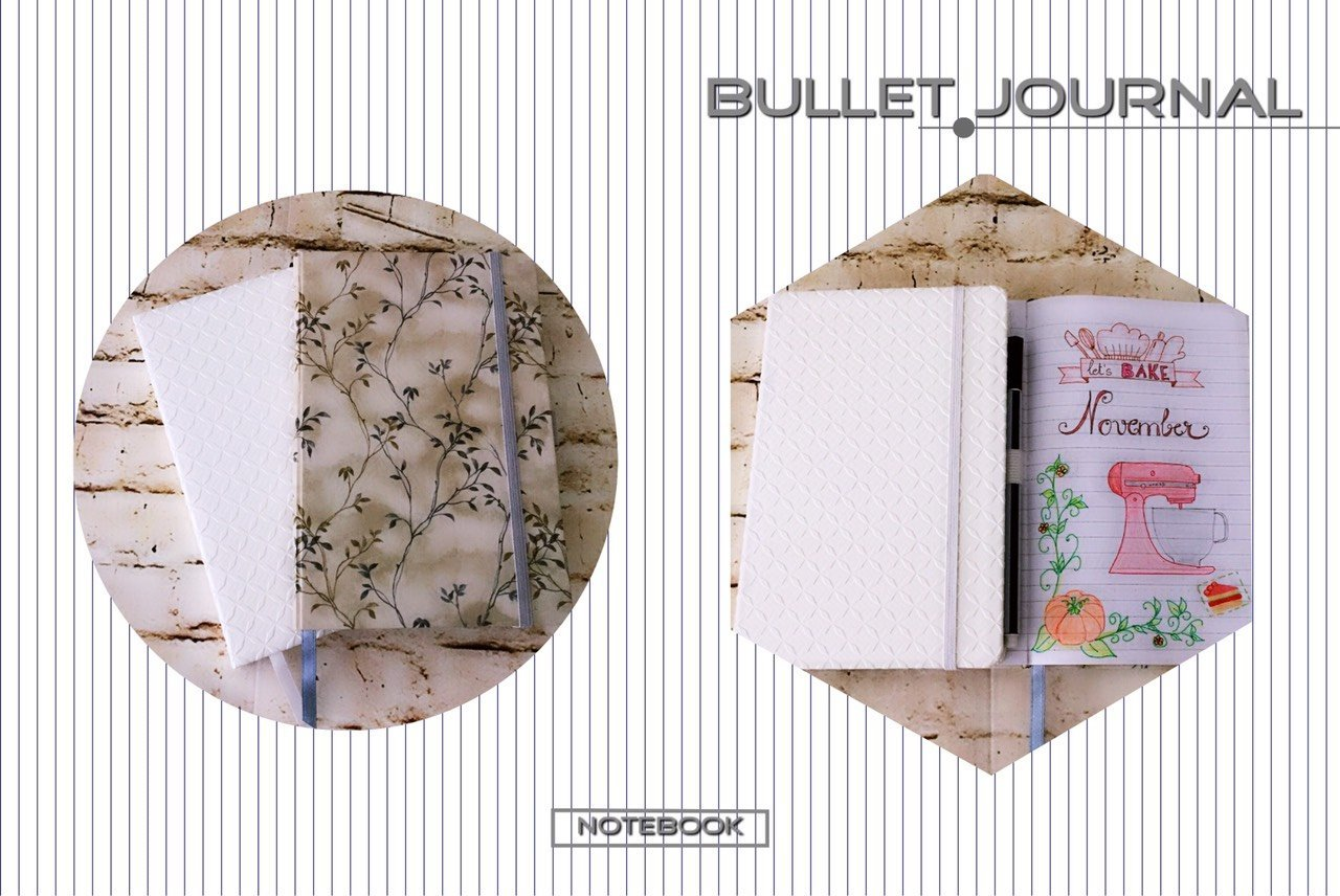 Bullet journaling - How to pick a bullet journal? - #notebook - itstartswithacoffee.com #bulletjournaling #bulletjournal