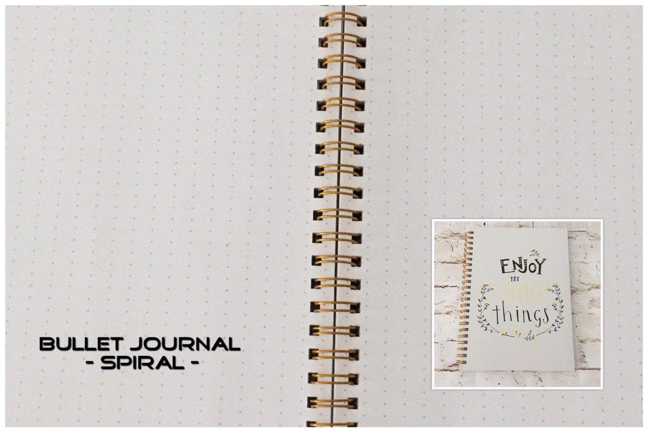 Bullet journaling - How to pick a bullet journal? - spiral - itstartswithacoffee.com #bulletjournaling #bulletjournal