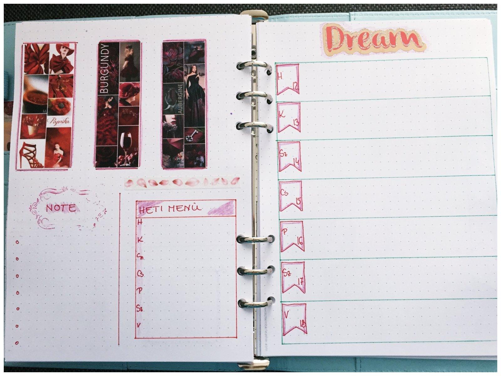 Bullet journal weekly planner November - itstartswithacoffee.com #bulletjournal #bulletjournaling #weeklyplanner #planner #November #bujo