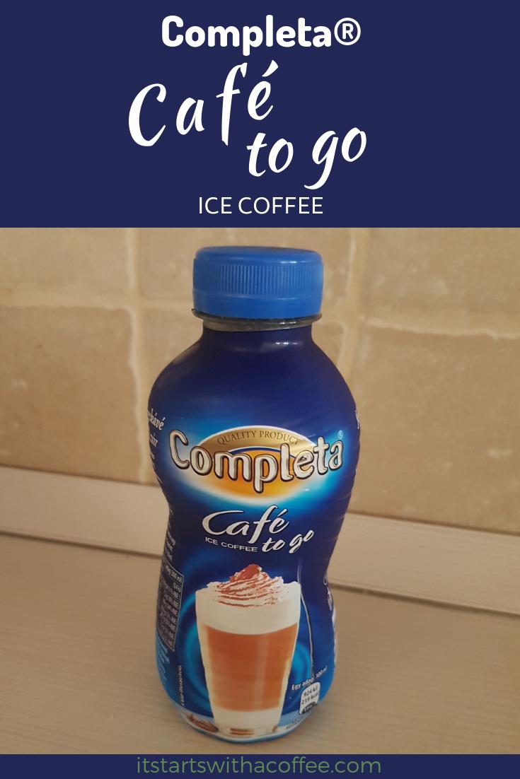 Completa® - Café to go Ice Coffee - itstartswithacoffee.com #coffee #icecoffee #itstartswithacoffee.com