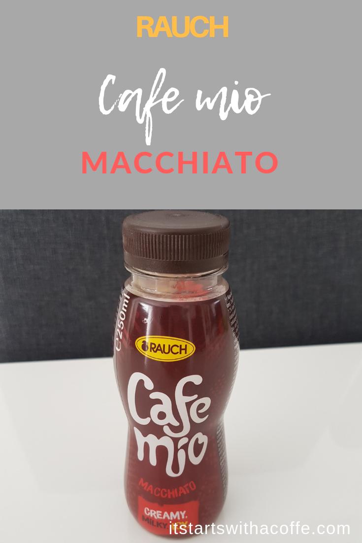 RAUCH - Cafe Mio Macchiato - istartswithacoffee.com #rauch #macchiato #coffee