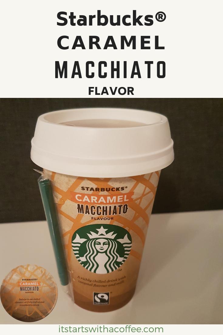 Starbucks® - Caramel Macchiato - itstartswithacoffe.com #starbucks #caramelmacchiato #macchiato #coffee #itstartswithacoffee