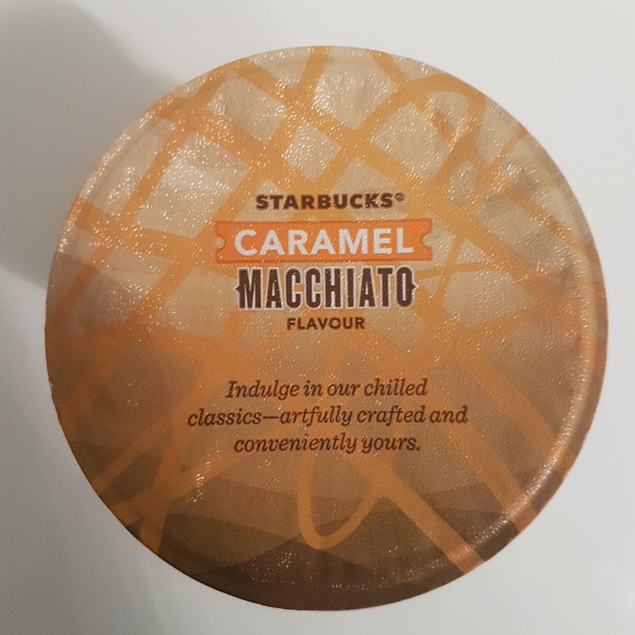 Starbucks® - Caramel Macchiato top - itstartswithacoffe.com #starbucks #caramelmacchiato #macchiato #coffee #itstartswithacoffee