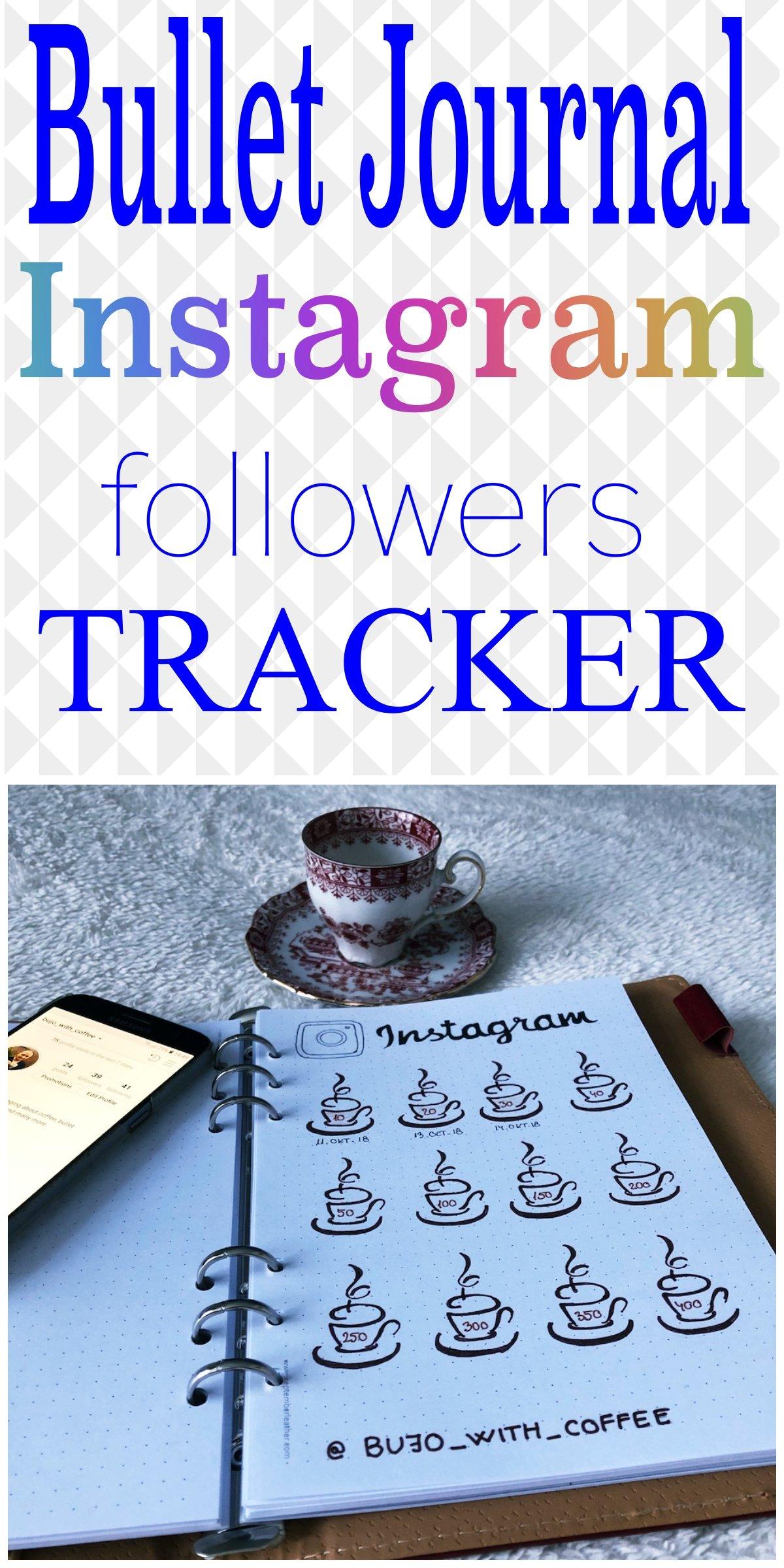 Instagram followers tracker for bullet journal - itstartswithacoffee.com #bulletjournal #bujo #tracker #followerstracker #bulletjournaling #bujojunkies #bujolove #showmeyourplanner #bujoinspire #bulletjournallove #bulletjournalcommunity #planning #planneraddict #bulletjournaljunkies #planwithme #itstartswithacoffee.com