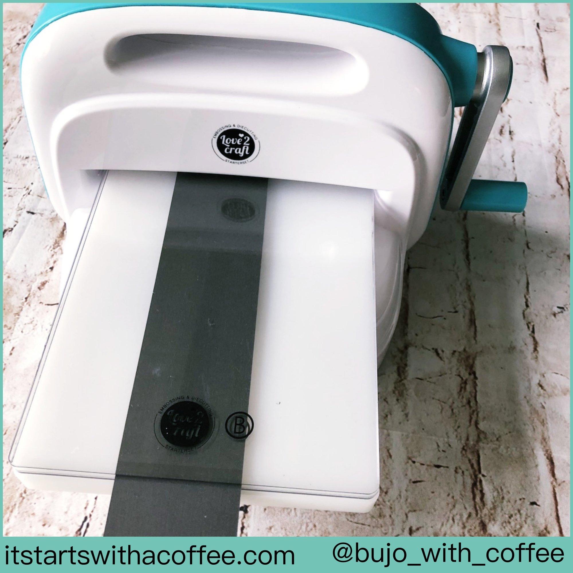 Embossing Die Cutting Machine - itstartswithacoffee.com #embossing #diecutting