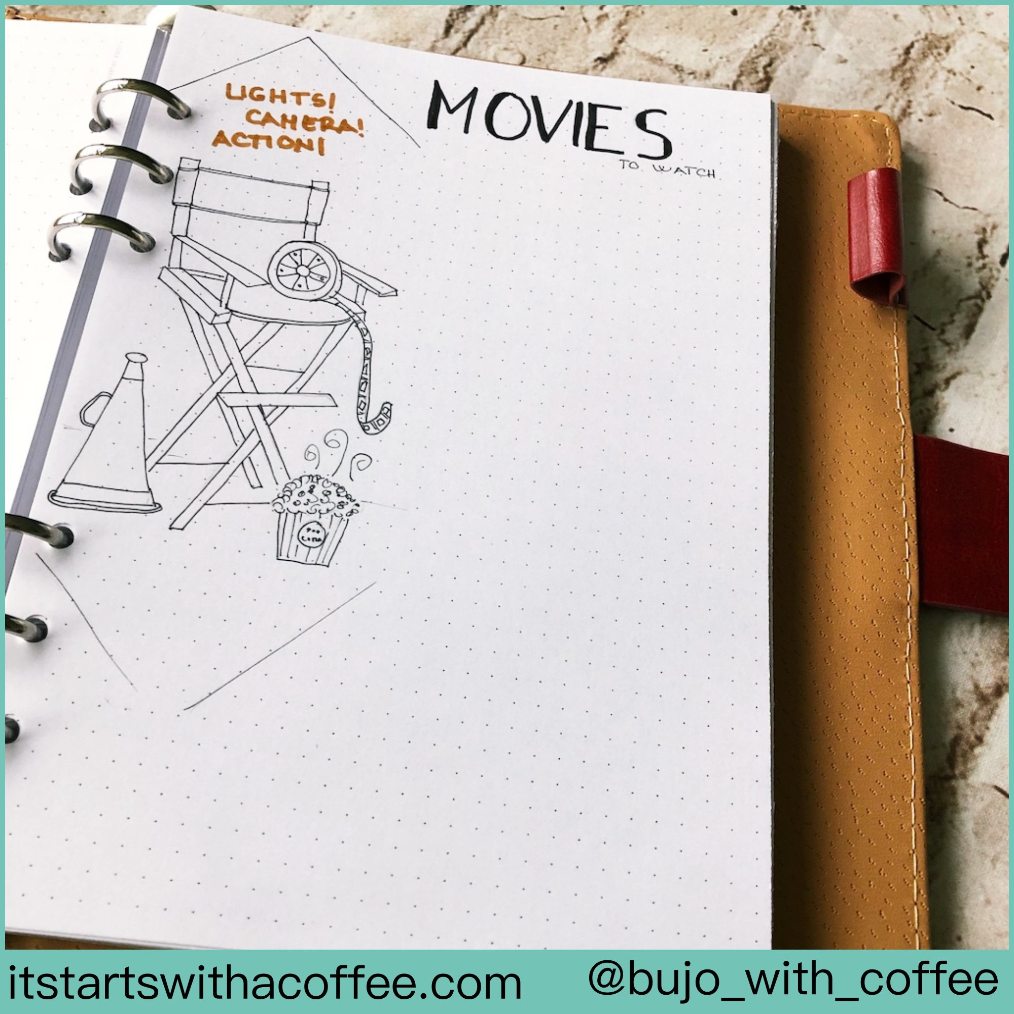 Director's chair outlined - itstartswithacoffee.com