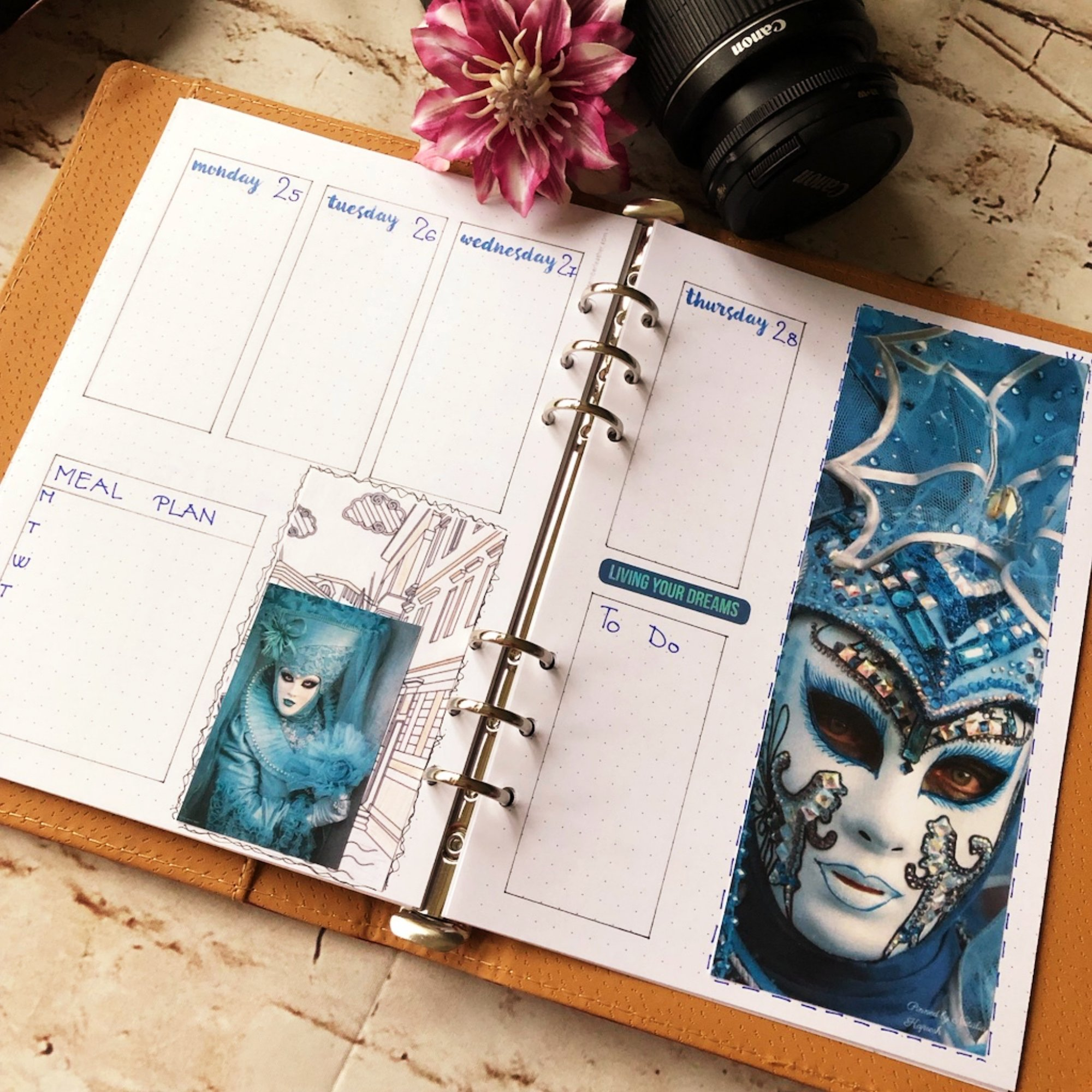 Creative journaling weekly planner - week 9 - itstartswithacoffee.com #creativejournaling #bulletjournaling #planner #weeklyplanner #weekly #February #2019 #week9