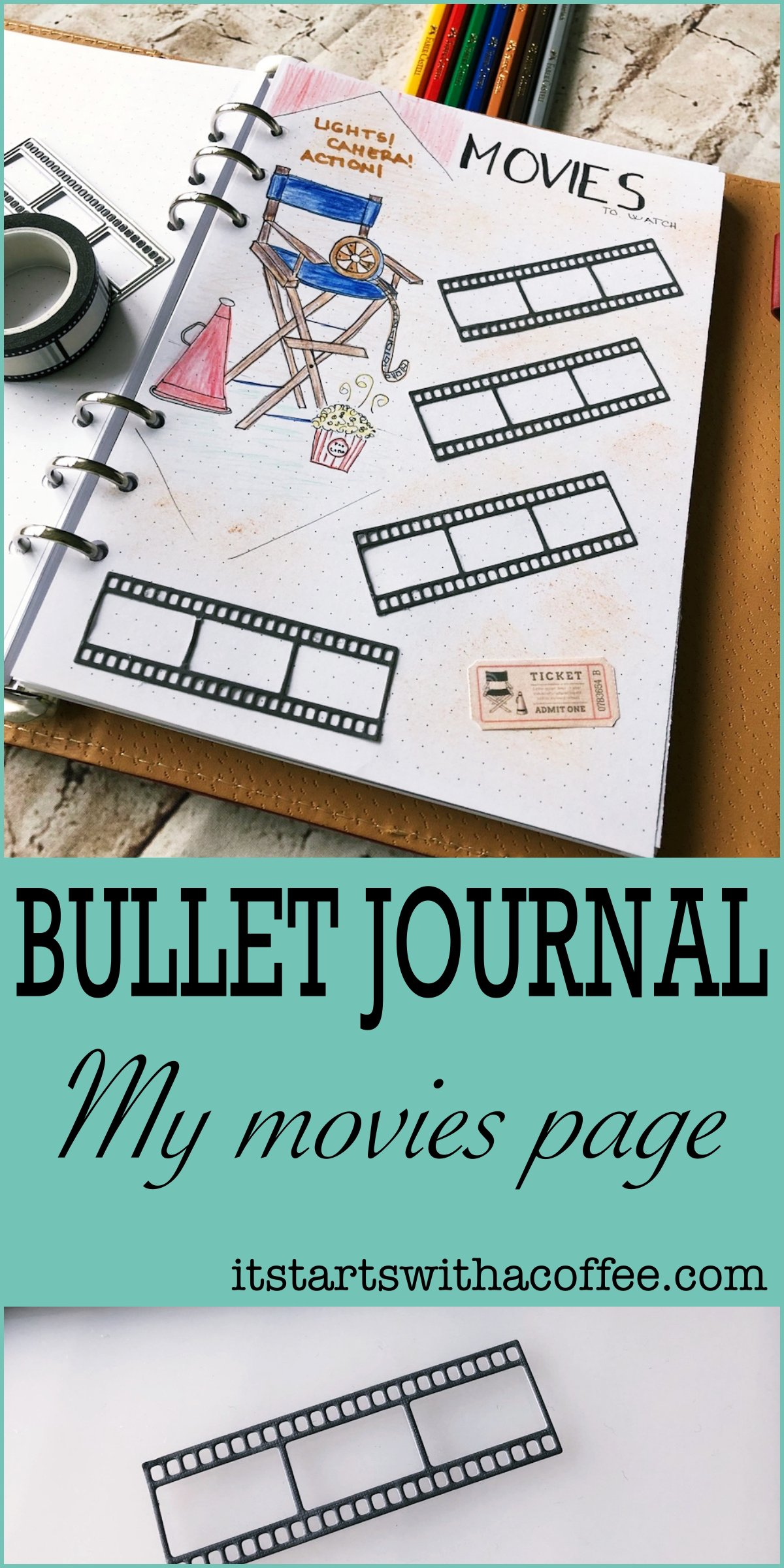 Bullet Journal Movies List It Starts With A Coffee
