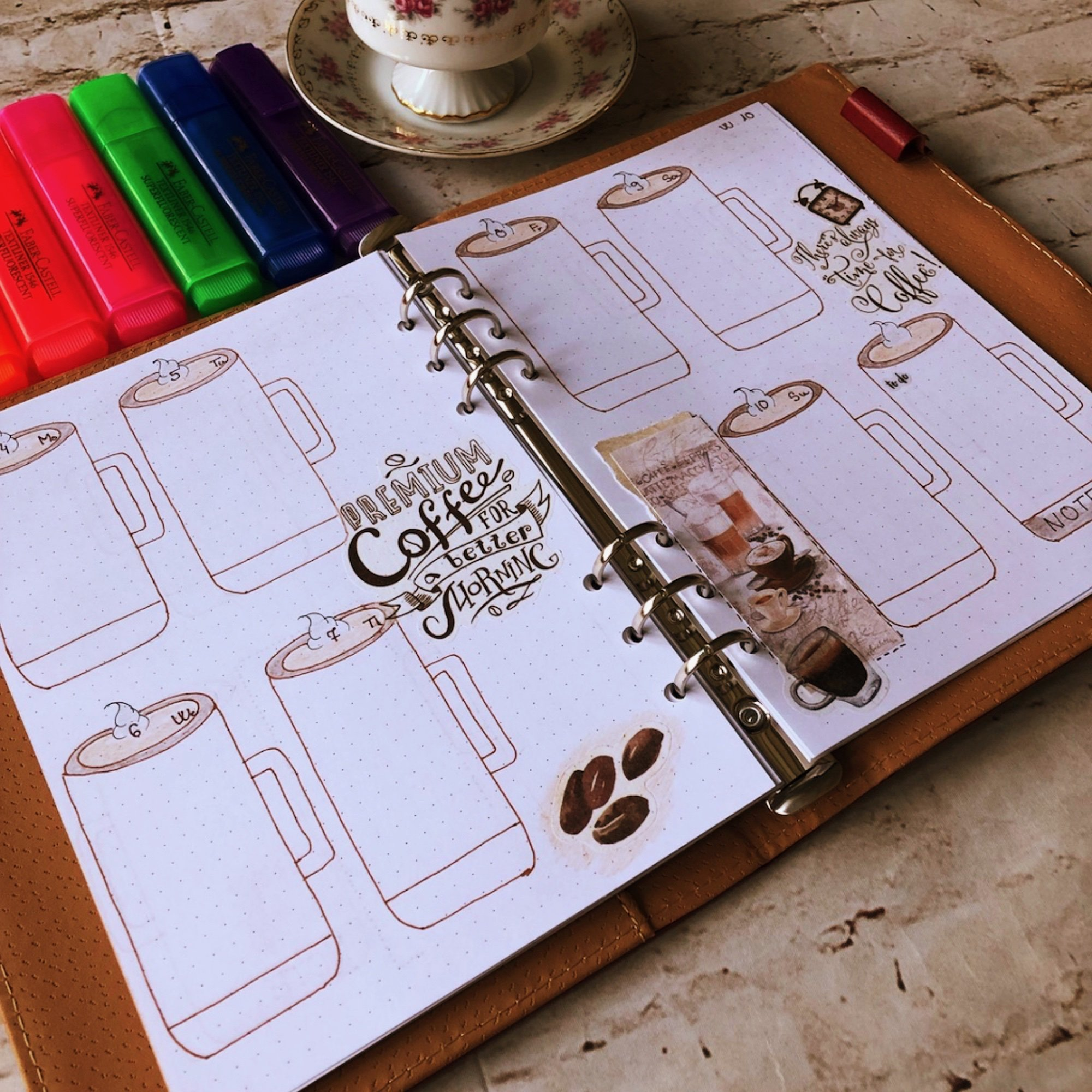 - itstartswithacoffee.com #creativejournaling #weekly #weeklyplanner #March #planner #planning
