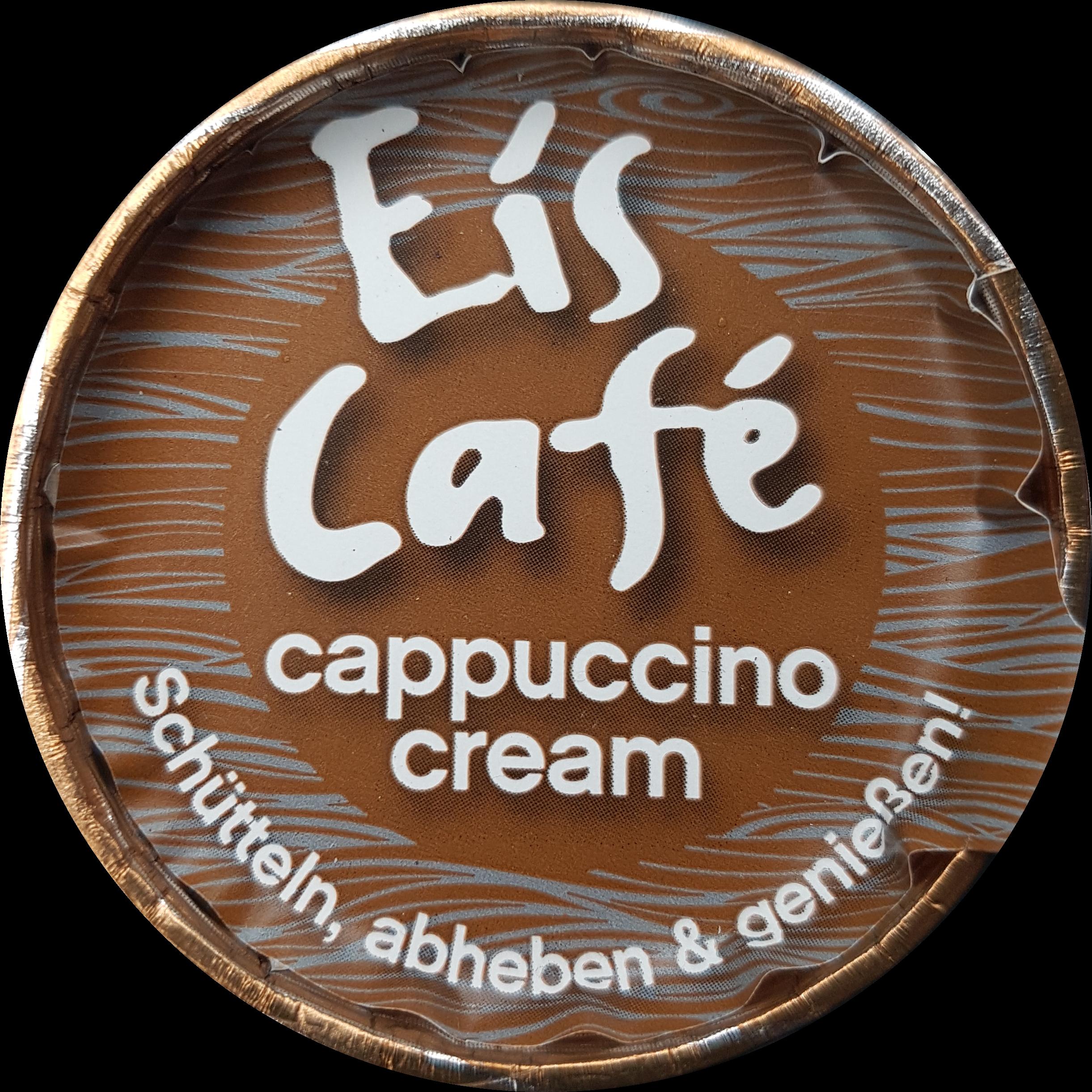 Maresi Eis Café cappuccino cream top - itstartswithacoffee.com #coffee #eiscafe #icecappuccino #cappucino #maresi