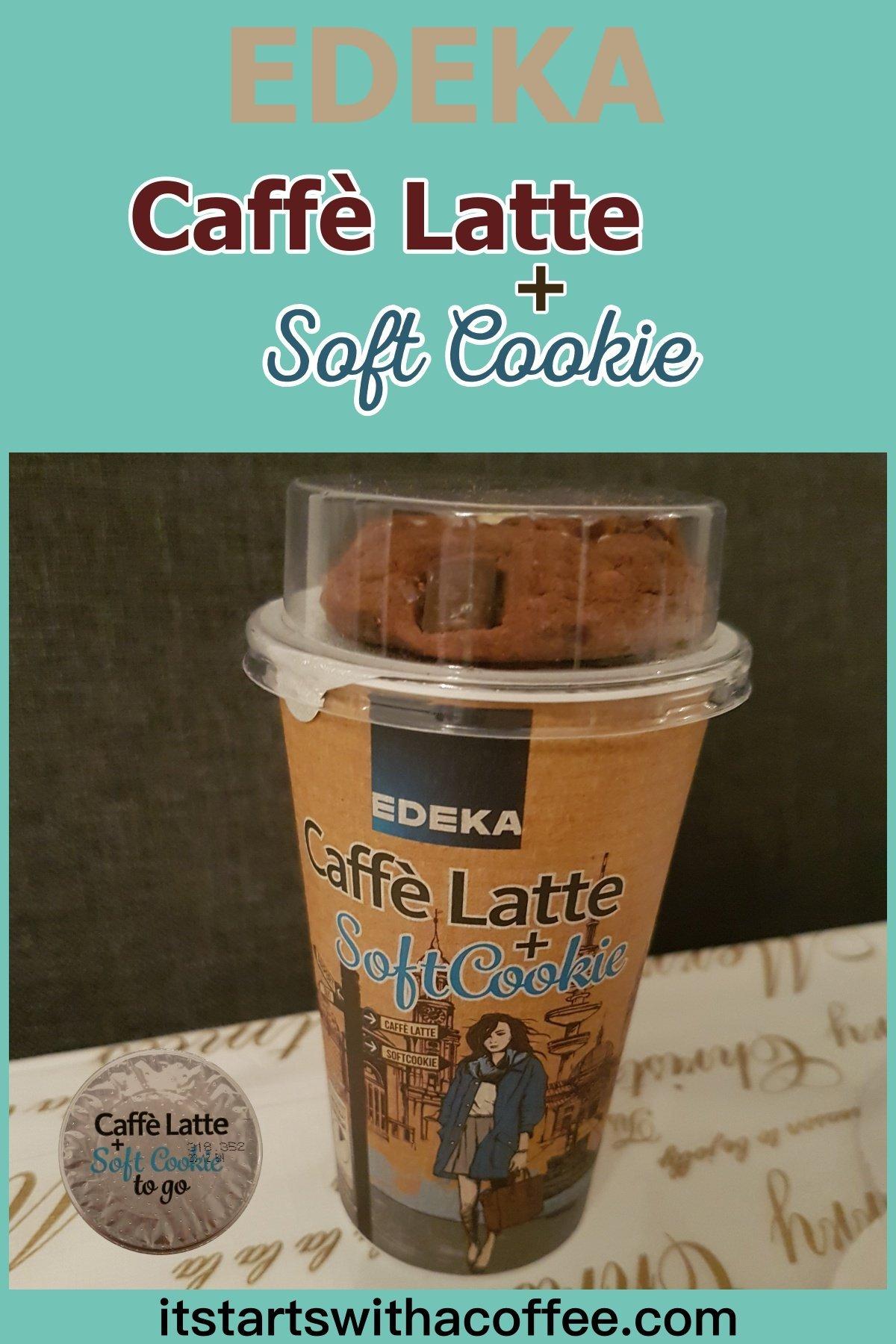 EDEKA — Caffè Latte + Soft Cookie - itstartswithacoffee.com #coffee #caffelatte #latte