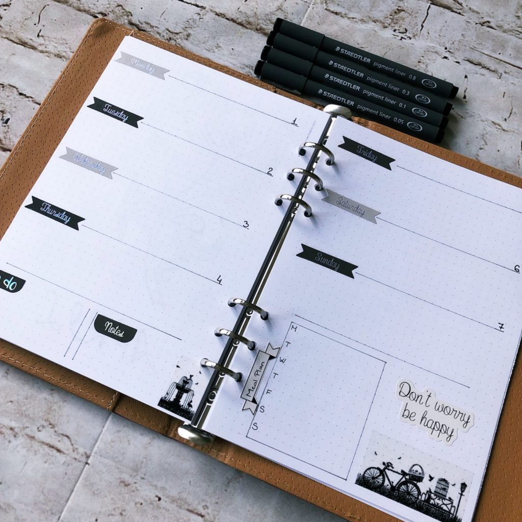 Creative journal April 2019 -  week 14 - itstartswithacoffee.com #creativejournaling #planner #weeklyplanner #2019 #2019April #April
