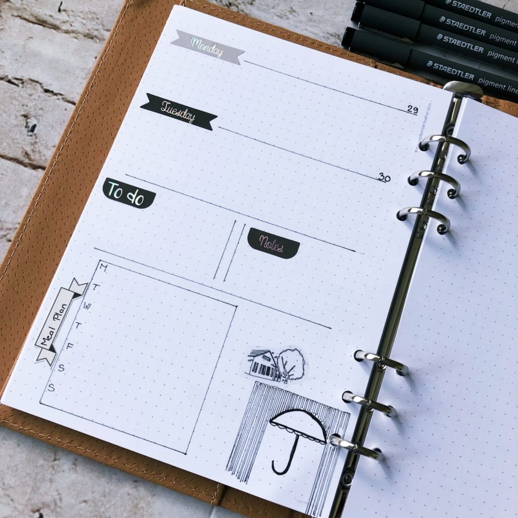 Creative journal April 2019 - week 18 - itstartswithacoffee.com #creativejournaling #planner #weeklyplanner #2019 #2019April #April