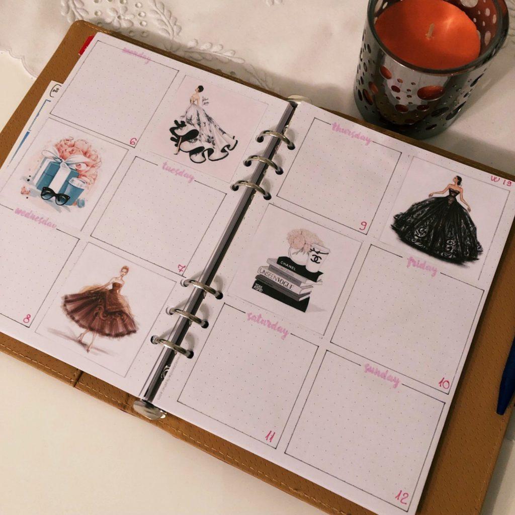Creative journaling May 2019 - week 19 - itstartswithacoffee.com #creativejournaling #planner #weeklyplanner #2019 #2019May #May