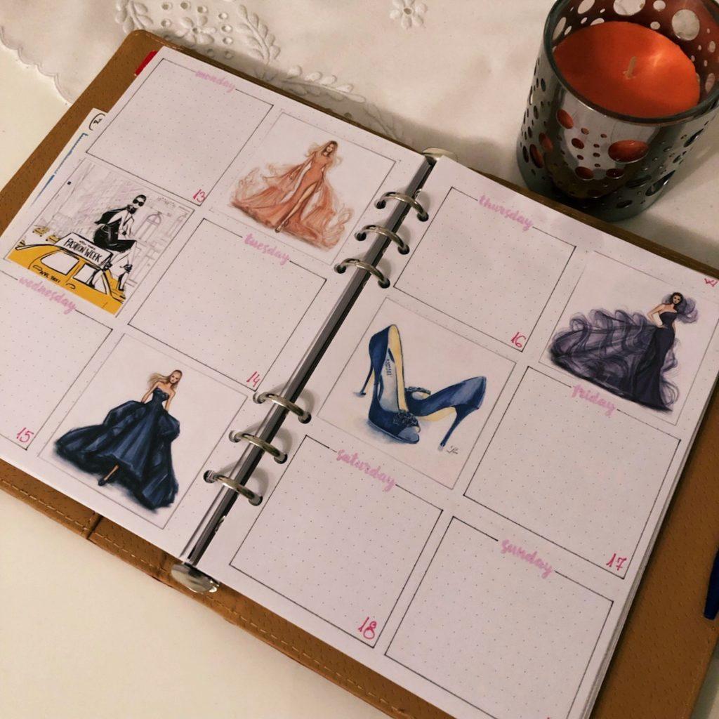 Creative journaling May 2019 - week 20 - itstartswithacoffee.com #creativejournaling #planner #weeklyplanner #2019 #2019May #May