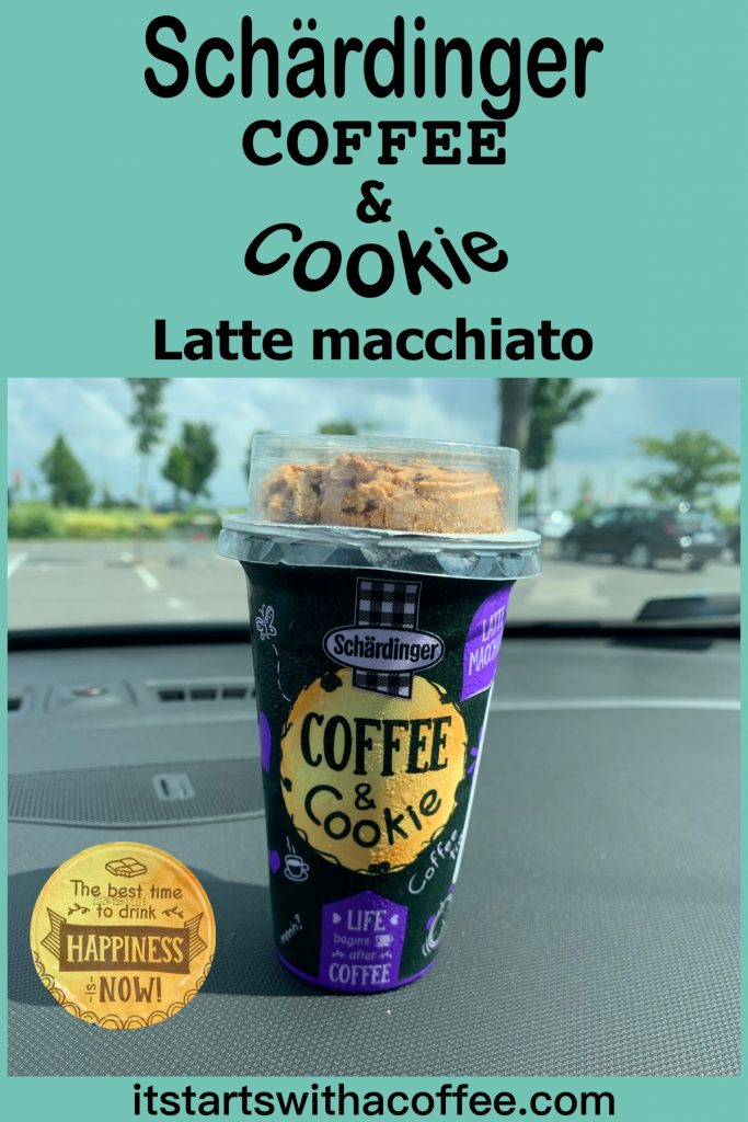 Schärdinger Coffee & Cookie — Latte Macchiato - itstartswithacoffee.com #coffee #lattemacchiato #cookie