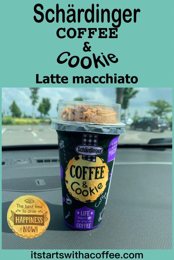 Schärdinger Coffee & Cookie — Latte Macchiato - itstartswithacoffee.com #coffee #lattemacchiato #cookie