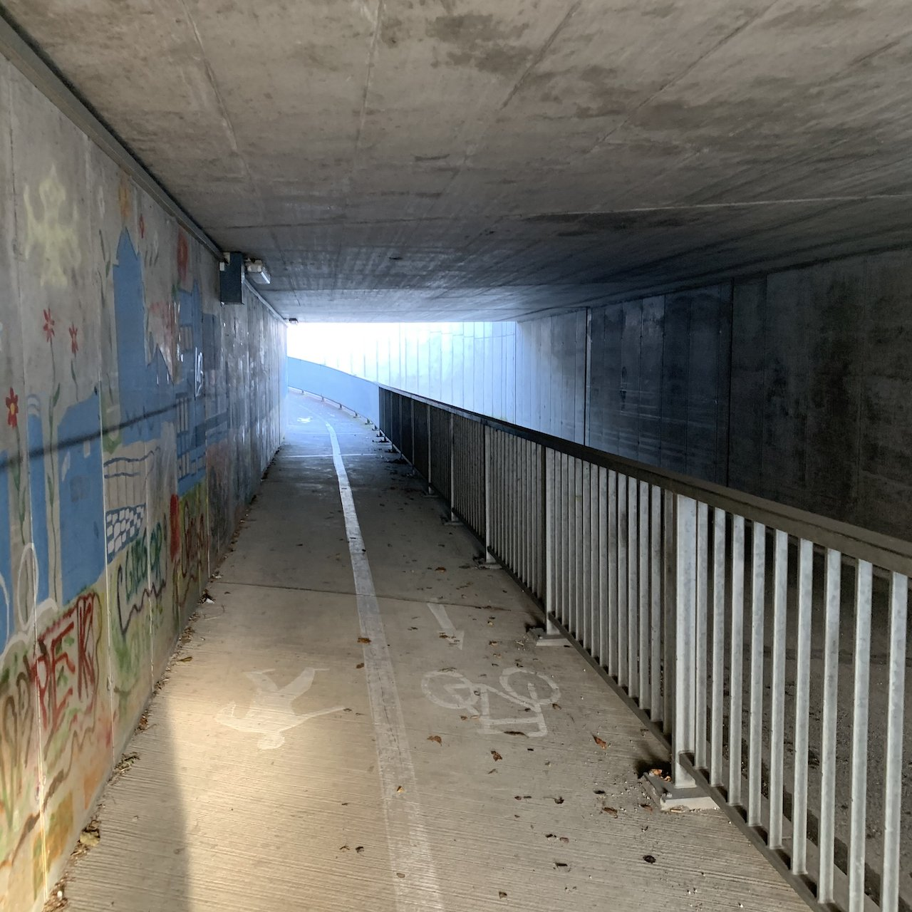 Geocache under the rail lines - not too obvious at first look - itstartswithacoffee.com  #geocache #geocaching  #geocachingAustria #geocachingAT