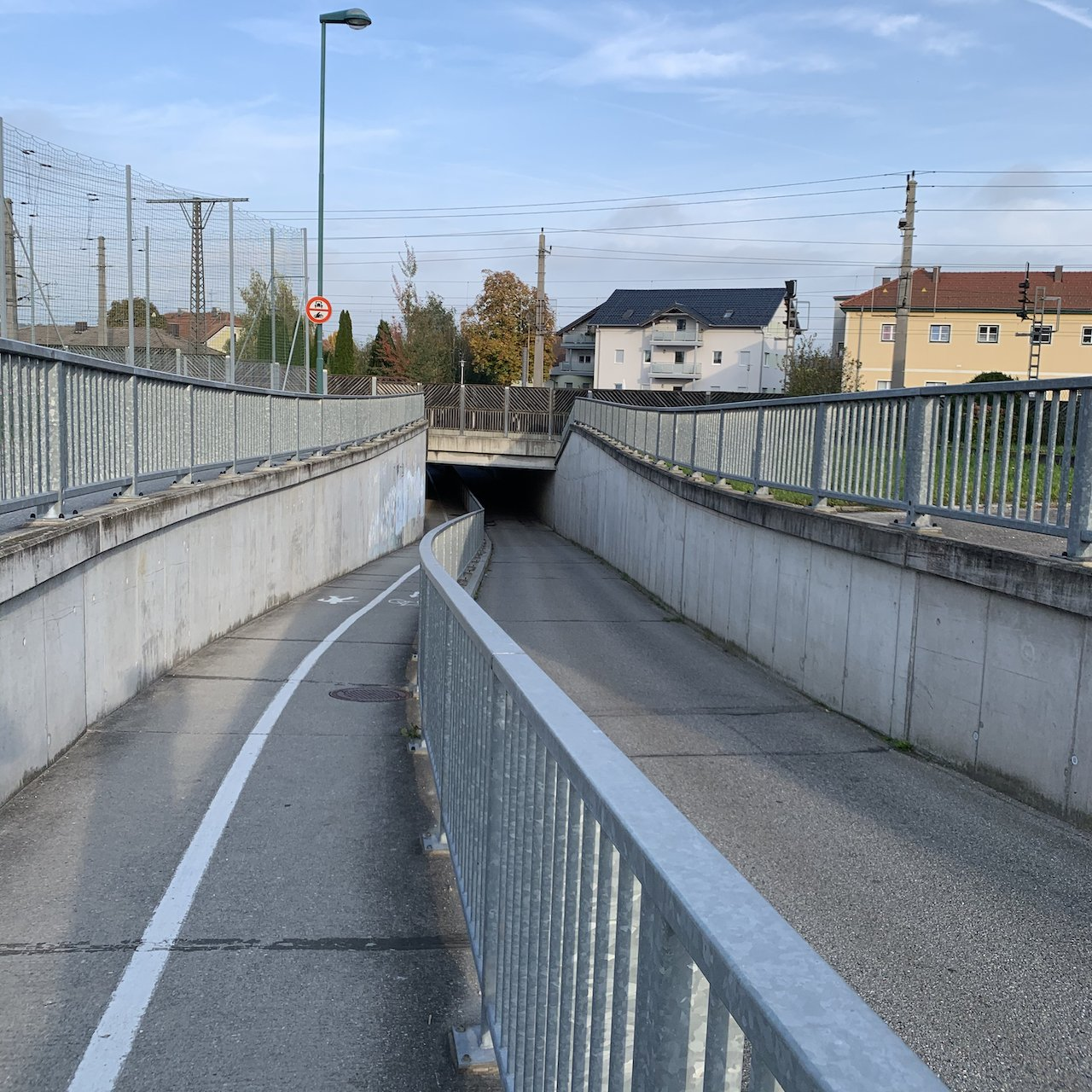 Geocache under the rail lines - No access to the rails from anywhere close - itstartswithacoffee.com  #geocache #geocaching  #geocachingAustria #geocachingAT #rail