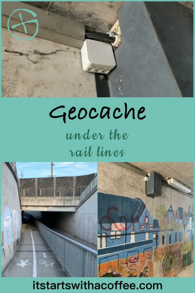 Geocache under the rail lines -itstartswithacoffee.com  #geocache #geocaching  #geocachingAustria #geocachingAT #geocachingfun #geocachingphotos #geocachingphoto #geocachingadventure #geocachingadventures